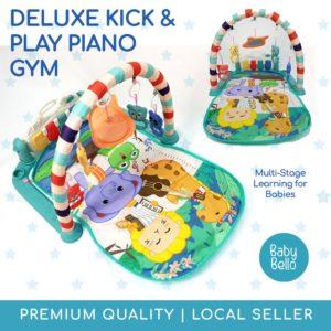 Kick and Play Piano