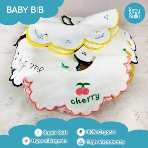 Baby Bib and Burp Cloth
